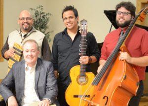 Daniel Martinez & Jarana; Oscar Rios, Jami Fristo, Daniel and Jeff Utter Photo by Stephen McAlister